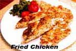 low sodium fried chicken